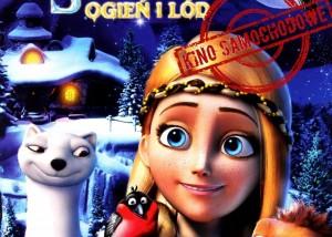 plakat filmowy królowa śniegu 3. filmowe mikołajki w opalenicy. niedziela 6 grudnia, godzina 16, targowisko w opalenicy, bezpłatne wejściówki do odbioru w ckib